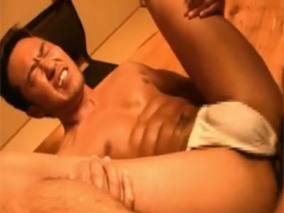 ふんどしの日本男児のセックス